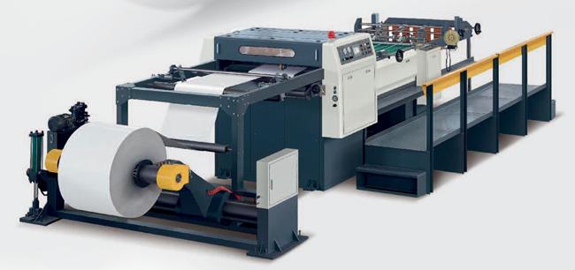 Vysokorychlostní příčná řezačka papíru šíře 110 cm – CM 110